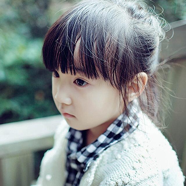 3岁小女孩发型超短发图片