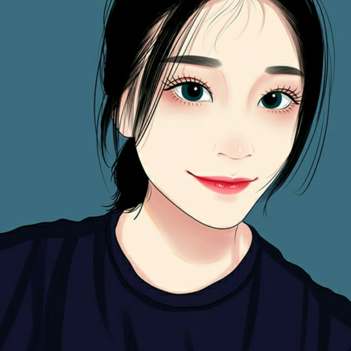 手绘卡通肖像w5风格