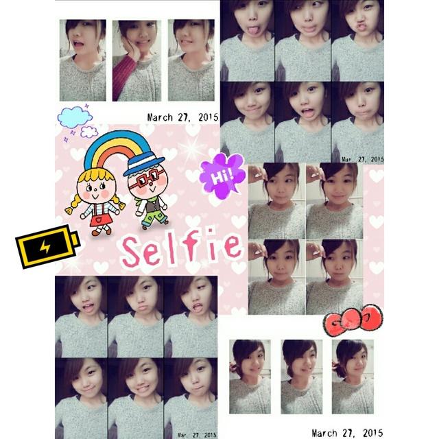 myself,HOLA,yesterday,selfie,心情美美哒