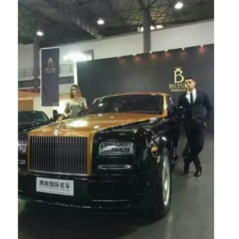 Me,Rolls-Royce,模特,男模,南昌车展