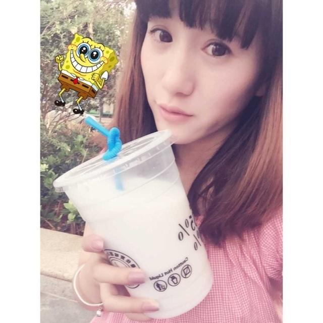 椰子汁,我已剪短我的发,同德广场台湾美食节