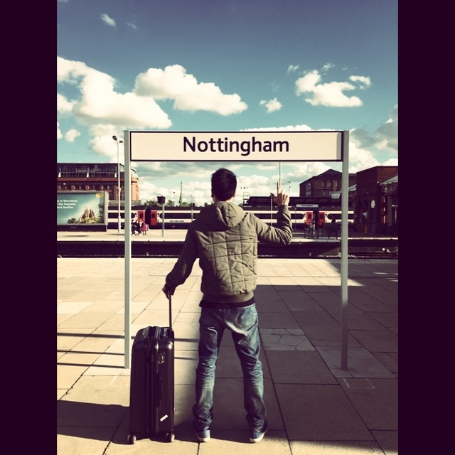 Nottingham,LY,唔煩我多好呢,死纏死纏的累死人呢,洗洗睡吧