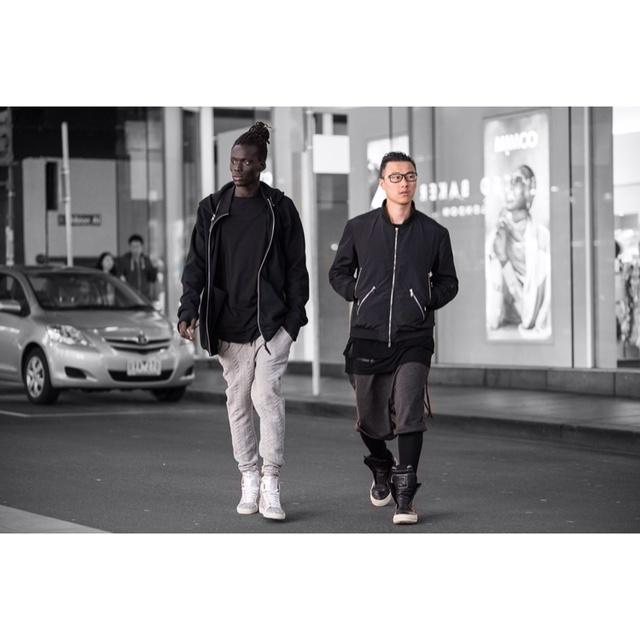 Saint Laurent Paris,RICK OWENS,男模,街拍