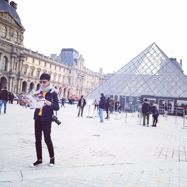 巴黎,卢浮宫,adidas Originals,RAY-BAN,Louis Vuitton