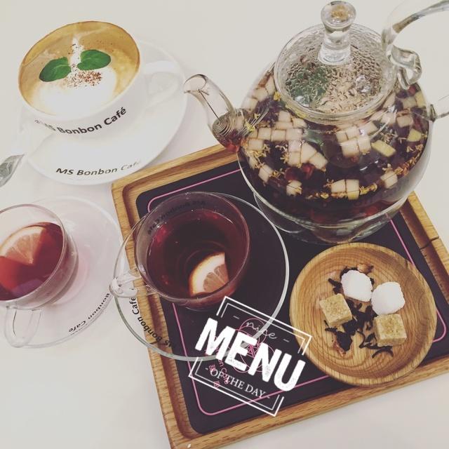 ms bonbon cafe,薄荷摩卡,闺蜜下午茶