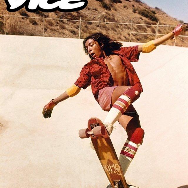 nice X VICE,今日主题:滑板,VICE贴纸
