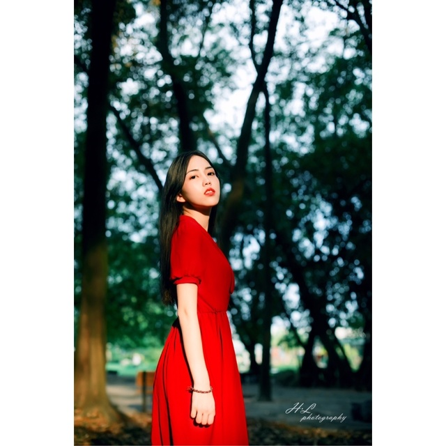 林深,Tao,植物园,森系
