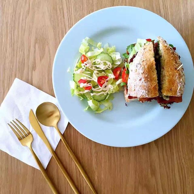 吃货的幸福,三明治,Bonjour,这个我先替你吃了