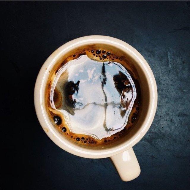 认真吃早餐,这个我先替你吃了,咖啡,喜欢请点赞