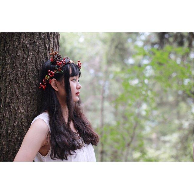 我用摄影看世界,森女系,林向量,少女情怀总是诗