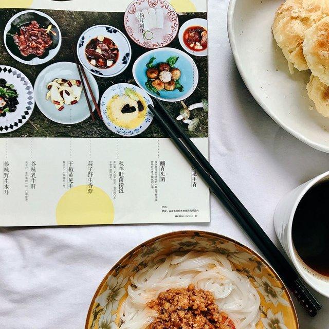 米线,云南小粒咖啡,云南鲜花饼,云南菜,悦食