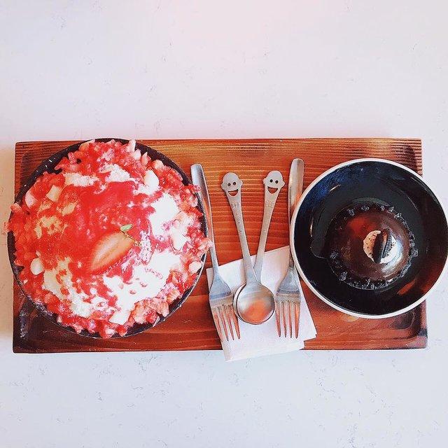 原谅我是个吃货,Montréal,草莓冰沙,奥利奥