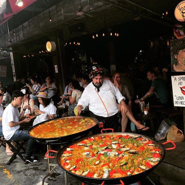 会玩的噜酱的照片 曼谷,周末集市