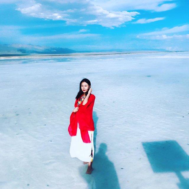 茶卡盐湖,旅行是我的解药,你好