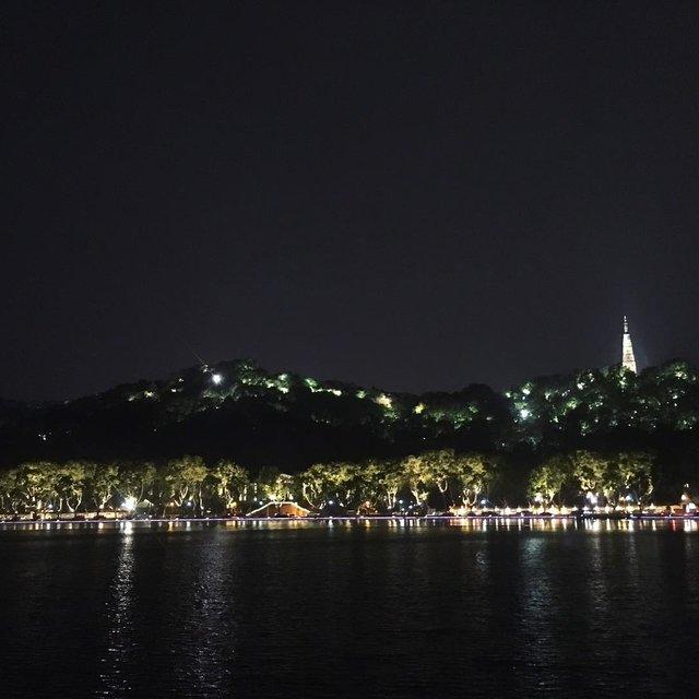 杭州,西湖,你好,再见