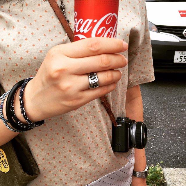 今天穿这样,RAFF,波点控,Coca Cola,咖啡控