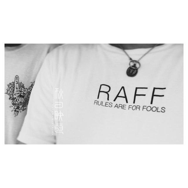 RAFF,爱纹身,纹身控,今天穿这样,Fashion有得聊