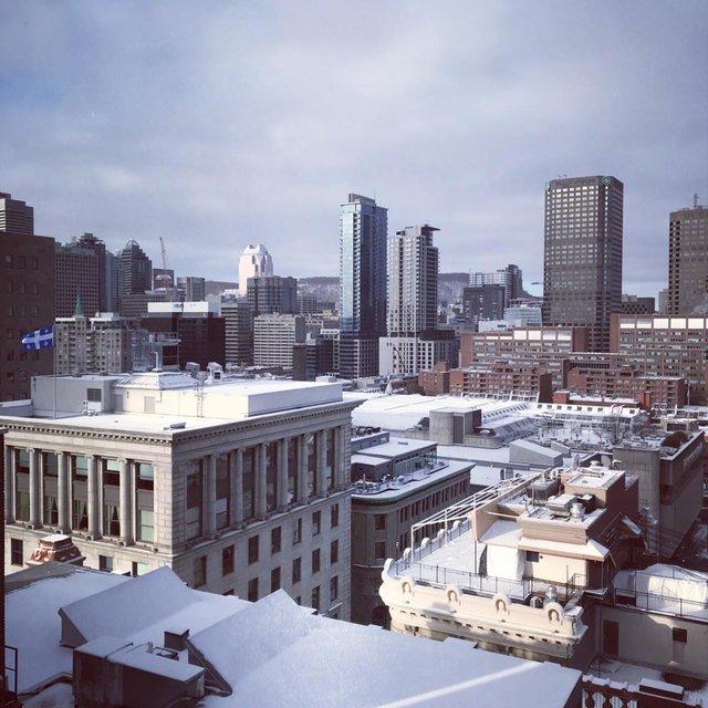 vieux port, Montreal,bonjour