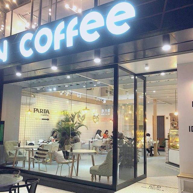 in coffee,手机摄影,白色控,美食·探店