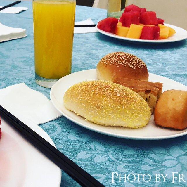 认真吃早餐,恒大酒店(东丽湖)