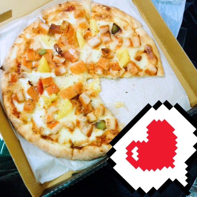 披萨,奥尔良披萨,hello,唯有美食与爱不可辜负