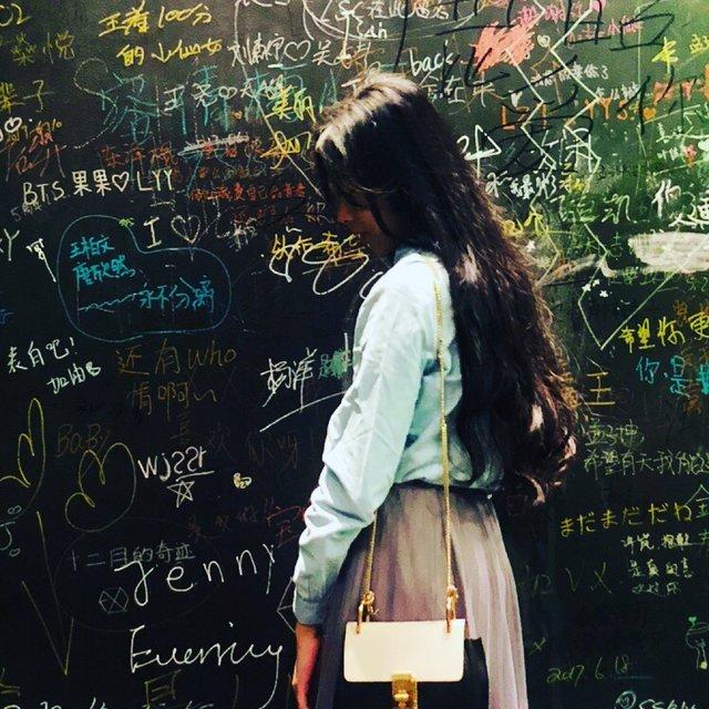 原來是Alina同學的照片