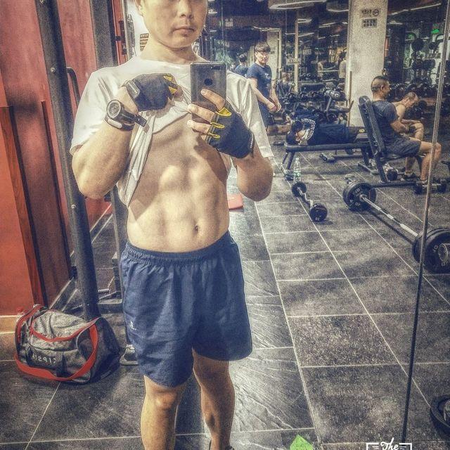 健身控,腹肌,肌肉控,北京