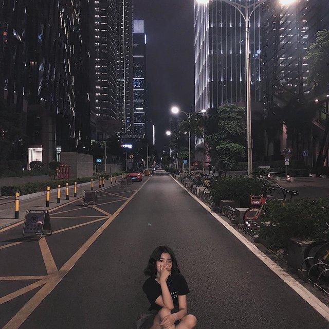 深圳,夜景,.