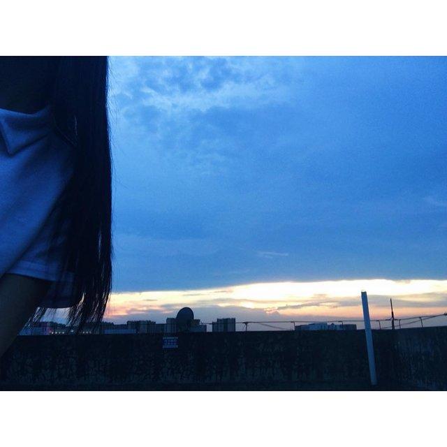 ElveRS,暴雨过后,blue sky,天台