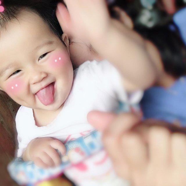 可爱大脸小孩图片