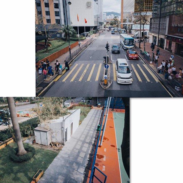 香港特别行政区,Canon,尖沙咀,人流,运动场一角