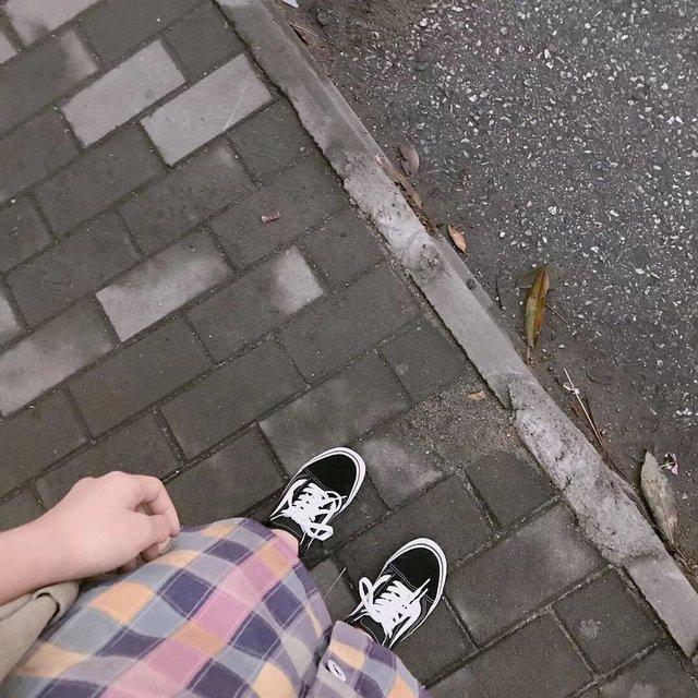 路,生命在于运动,今天穿这样,深秋