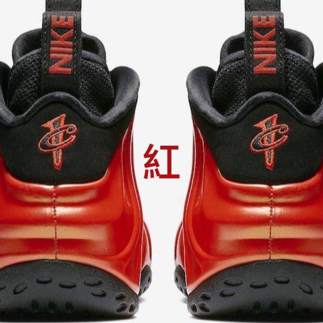 球鞋控,我为鞋狂,nike,foamposite,红
