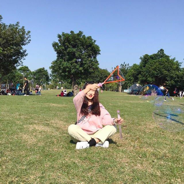 大草坪,广州,💕,喜欢请点赞,阳光正好微风不燥