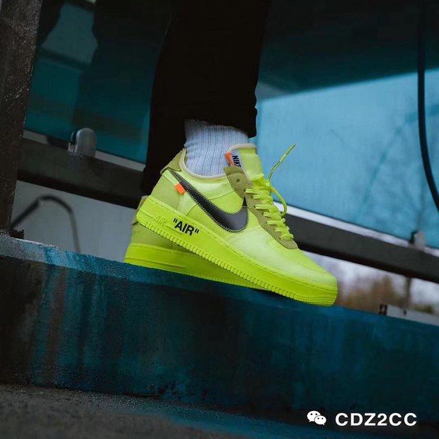 荧光绿,off-white,Air Force 1,Nike,鞋癌晚期