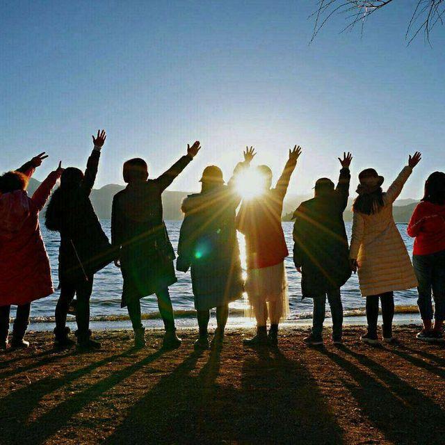 泸沽湖,旅行是我的解药,背影,再见