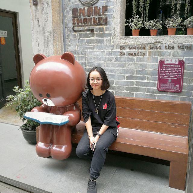 sitting楊的照片