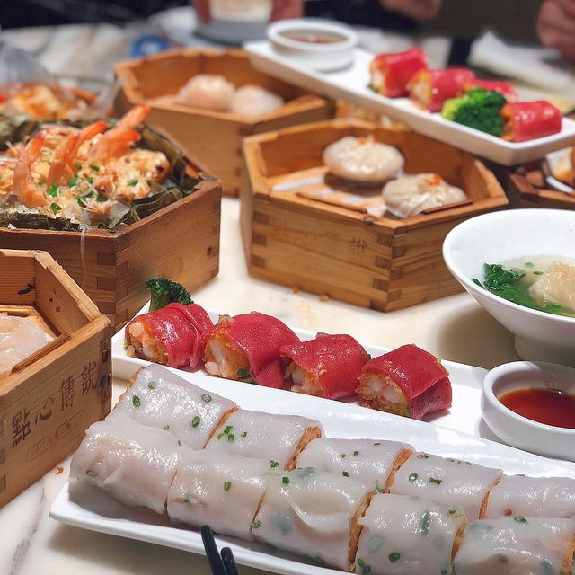 饮茶,虾饺,❤️,年夜饭,吃货的幸福