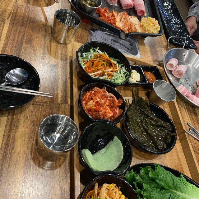 韩国料理,韩国人,韩国,吃货的幸福,烤五花肉