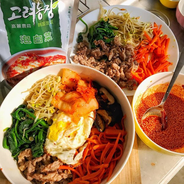 韩式拌饭,辣白菜,深圳市,唯有美食与爱不可辜负,手机拍摄