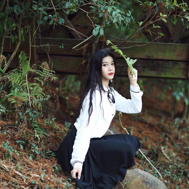 单反摄影,total look,叶子,nice,森系