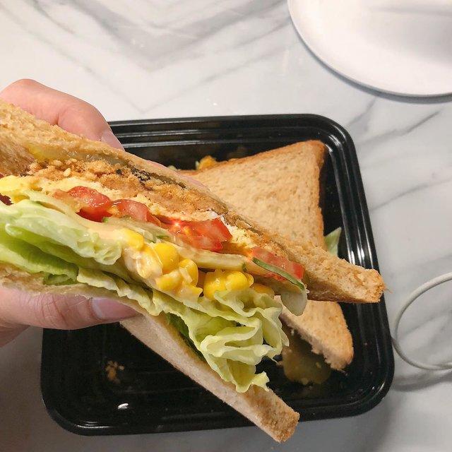 三明治,美食,手机摄影