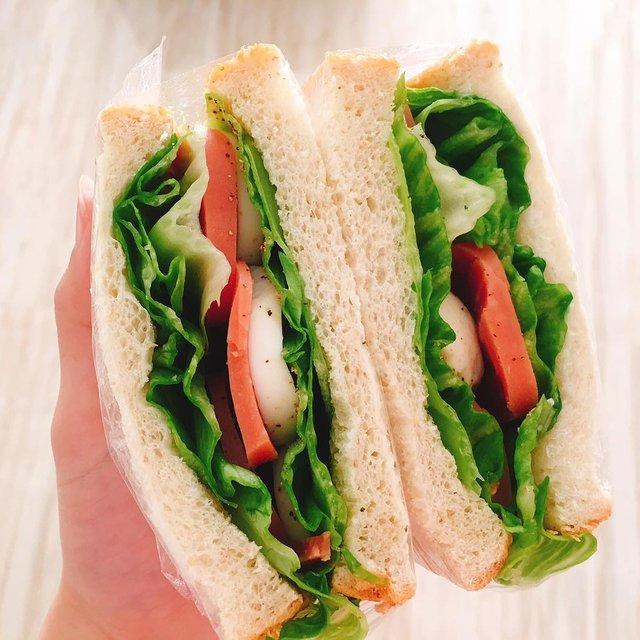 三明治,挑战早起,减脂餐