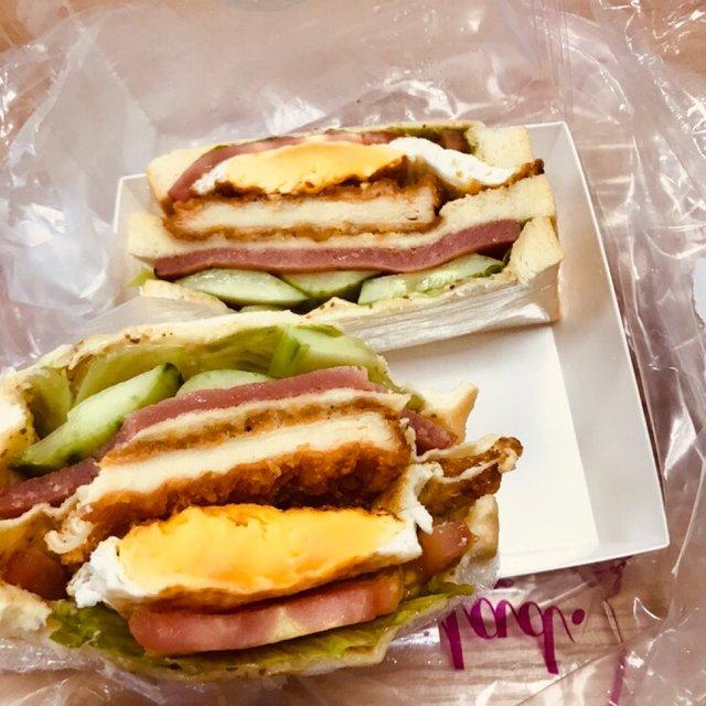 三明治,喜欢请点赞