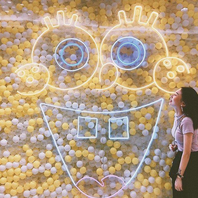 海绵宝宝,spongebob,保利时光里,广州