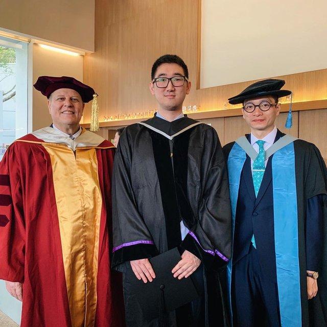 今天穿这样,毕业典礼,旅行是我的解药,香港中文大学邵逸夫堂