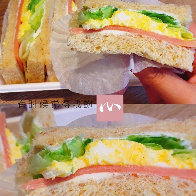 三明治,喜欢请点赞,这个我先替你吃了