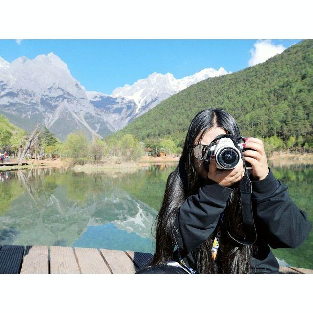 旅行是我的解药,风景这边独好,玉龙雪山国家级风景名胜区-蓝月谷,喜欢请点赞,手机摄影