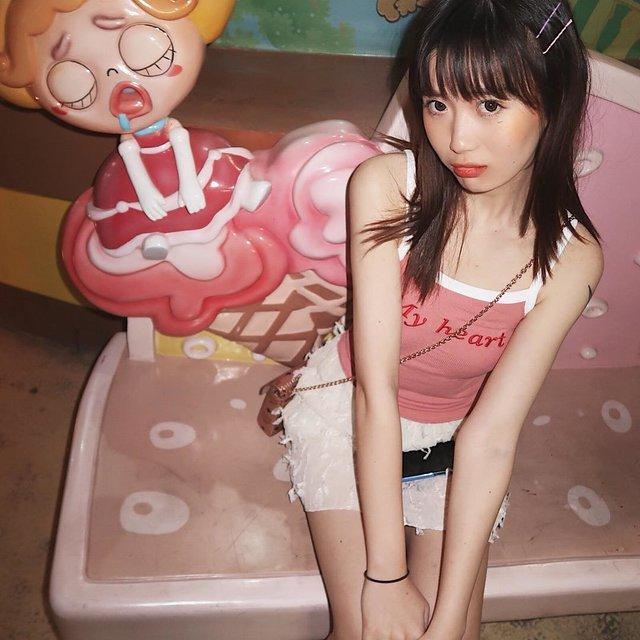 粉红顽皮豹,今天穿这样,粉色控