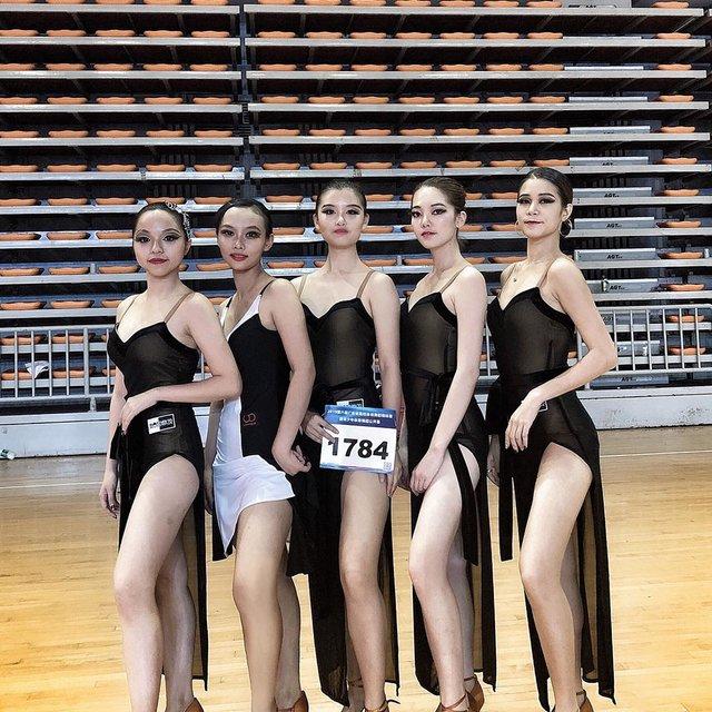 拉丁舞蹈公开赛,今天穿这样,我,广州市